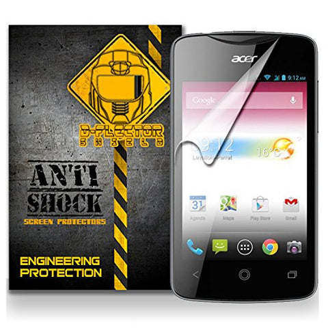 D-Flectorshield Acer Liquid Z3 / Liquid Z3 Anti-Shock/military grade/ TPU /Premium Screen Protector / self healing / oleophobic material / EZ install / ultra high definition / scratch proof / bubble free install / precise laser cuts