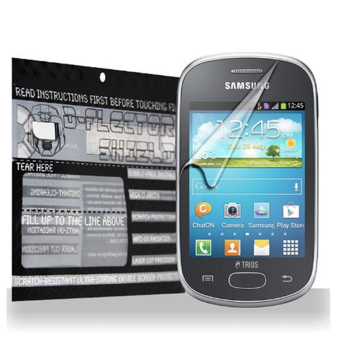 D-Flectorshield Samsung Galaxy Star Trios S5283 Scratch Resistant Screen Protector - Free Replacement Program