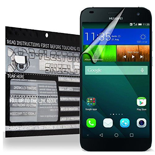 D-flectorshield Huawei Ascend G7 Scratch Resistant Screen Protector - Free  Replacement Program