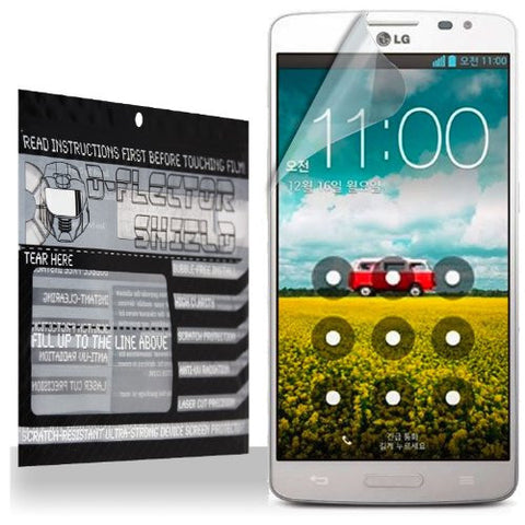 D-Flectorshield LG GX F310L Scratch Resistant Screen Protector - Free Replacement Program