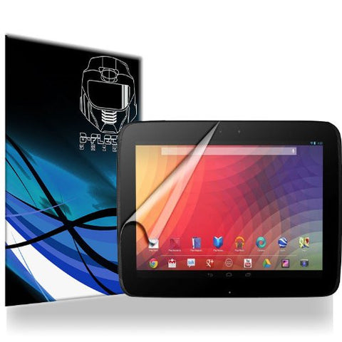D-Flectorshield Google Nexus 10 2013 Scratch Resistant Screen Protector - Free Replacement Program