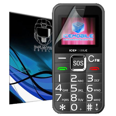 D-Flectorshield Icemobile Cenior Scratch Resistant Screen Protector - Free Replacement Program