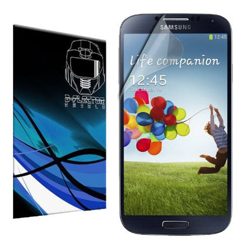 D-Flectorshield Instant Clear SAMSUNG GALAXY S4 Screen Protector S 4 SIV S IV i9500 i9505 (3 Pack)