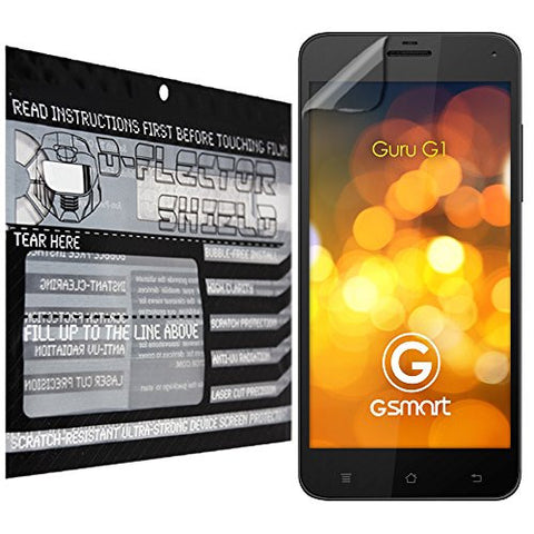 D-Flectorshield Gigabyte Gsmart Guru Scratch Resistant Screen Protector - Free Replacement Program