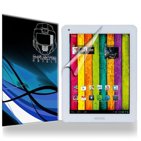 D-Flectorshield Archos 101 Titanium Scratch Resistant Screen Protector - Free Replacement Program