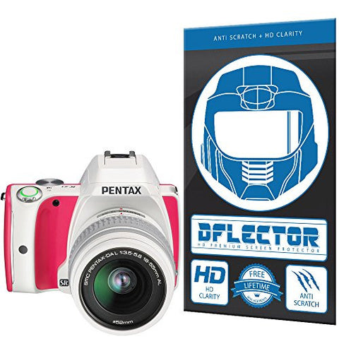 DFlectorshield Screen Protector for the Pentax K-S1 Sweets with free lifetime replacement program