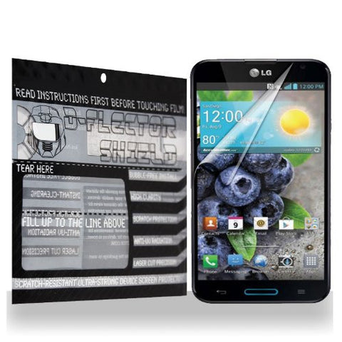 D-Flectorshield LG GX Scratch Resistant Screen Protector - Free Replacement Program
