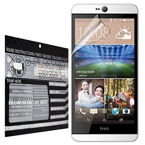 D-Flectorshield HTC Desire 826 Scratch Resistant Screen Protector - Free Replacement Program