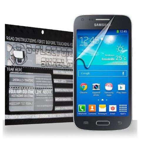 D-Flectorshield Samsung Galaxy Core Plus Scratch Resistant Screen Protector - Free Replacement Program