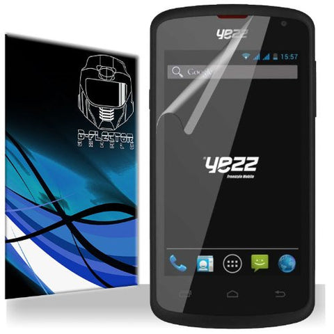 D-Flectorshield Yezz Andy A4 Scratch Resistant Screen Protector - Free Replacement Program