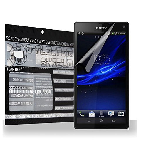 D-Flectorshield Scratch Resistant Sony Xperia C3 Premium screen protector/anti-scratch/scratch resistant/self-healing technology/oleophobic material/high definition/bubble free install/Precise and accurate fitment with lifetime free replacement program