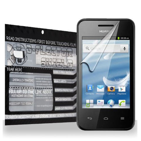 D-Flectorshield Huawei Ascend Y220 Scratch Resistant Screen Protector - Free Replacement Program