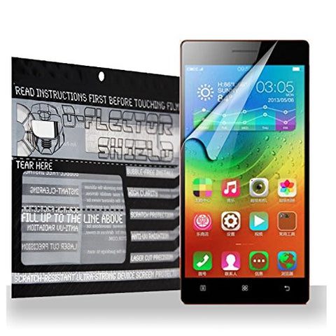 D-flectorshield Lenovo Vibe X2 Scratch Resistant Screen Protector - Free Replacement Program