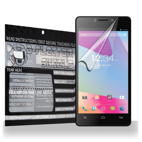 D-Flectorshield BLU Vivo 4.8 Hd Scratch Resistant Screen Protector - Free Replacement Program