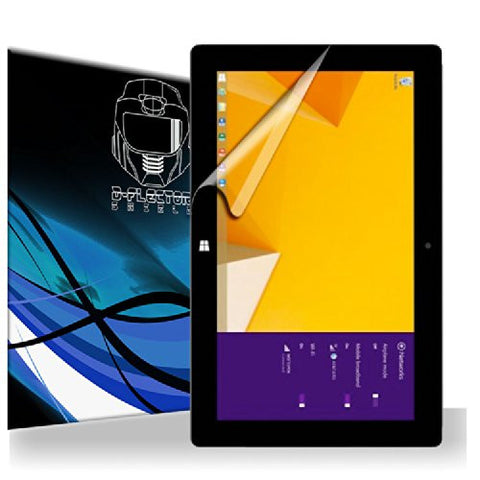 D-Flectorshield Microsoft Surface 2 4G LTE AT&T Screen Protector Scratch Resistant / Self Healing Technology / HD Clarity / lint and bubble free Installation