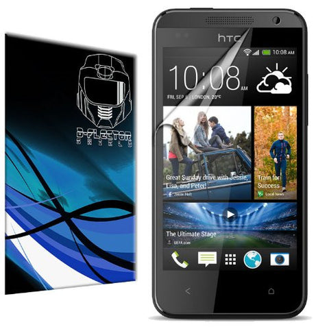 D-Flectorshield HTC Desire 300 Scratch Resistant Screen Protector - Free Replacement Program