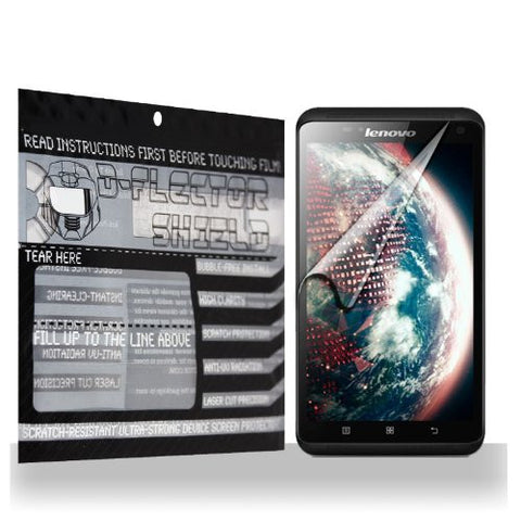 D-Flectorshield Lenovo S930 Scratch Resistant Screen Protector - Free Replacement Program