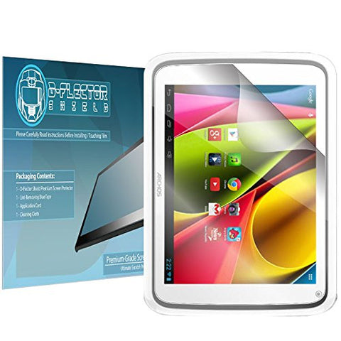 DFlectorshield Premium Scratch Resistant Screen Protector Archos 80b HD Protection with free Lifetime Replacement Program