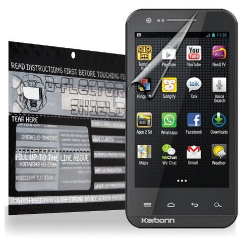 D-Flectorshield Karbon A11 Scratch Resistant Screen Protector - Free Replacement Program