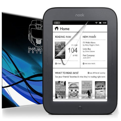 D-Flectorshield Barnes And Noble Nook Simple Touch Scratch Resistant Screen Protector - Free Replacement Program