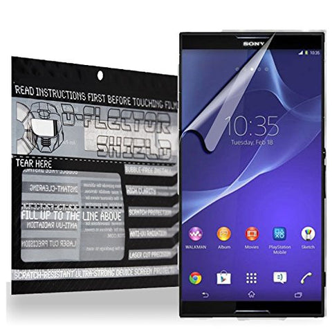 D-Flectorshield Sony Xperia Z3 Compact Scratch Resistant Screen Protector - Free Replacement Program