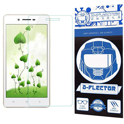 DFlectorshield Screen Protector for the Oppo 7 Neo A33 with free Lifetime Replacement Program