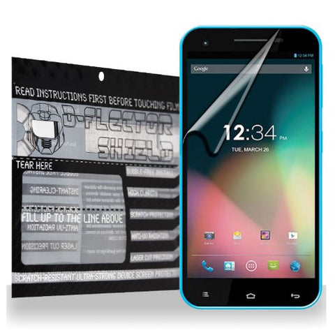 D-Flectorshield BLU Studio 5.5 Scratch Resistant Screen Protector - Free Replacement Program