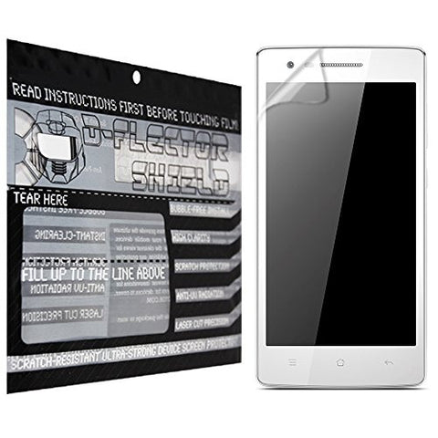 D-Flectorshield Oppo 3007 Scratch Resistant Screen Protector - Free Replacement Program