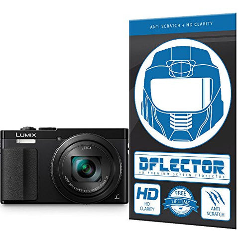 DFlectorshield Screen Protector for the Panasonic Lumix DMC-TZ70 with free lifetime replacement program