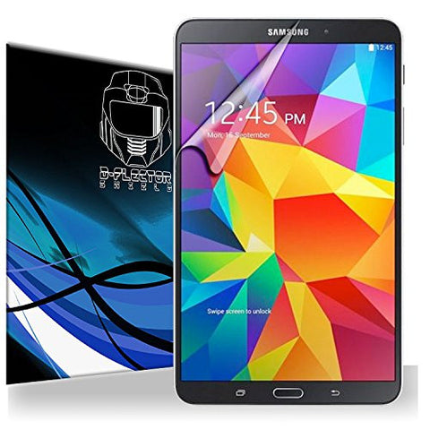 D-Flectorshield Scratch Resistant Galaxy Tab S 8.4 Premium screen protector/anti-scratch/scratch resistant/self-healing technology/oleophobic material/high definition/bubble free install/Precise and accurate fitment with lifetime free replacement program