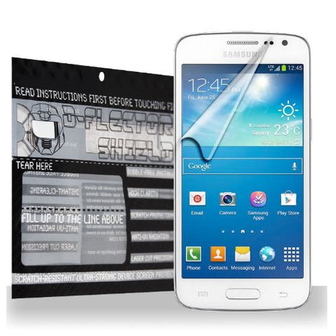 D-Flectorshield Samsung G3812B Galaxy S3 Slim Scratch Resistant Screen Protector - Free Replacement Program