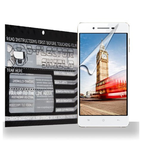 D-Flectorshield Oppo R829T Scratch Resistant Screen Protector - Free Replacement Program