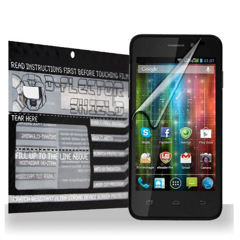 D-Flectorshield Prestigio MultiPhone 5400 Duo Scratch Resistant Screen Protector - Free Replacement Program