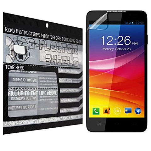 D-Flectorshield Micromax Canvas Selfie Scratch Resistant Screen Protector - Free Replacement Program