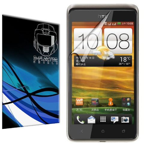 D-Flectorshield HTC Desire 400 Scratch Resistant Screen Protector - Free Replacement Program