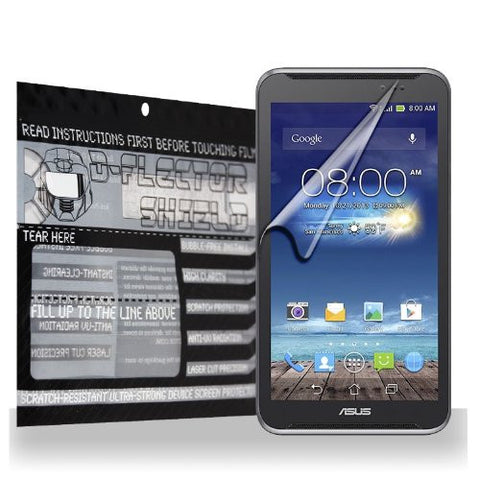 D-Flectorshield Asus Fonepad Note FHD6 Scratch Resistant Screen Protector - Free Replacement Program