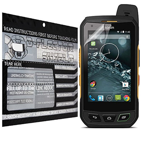 D-Flectorshield Sonim XP7 Scratch Resistant Screen Protector - Free Replacement Program