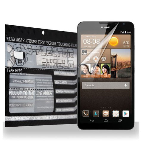 D-Flectorshield Huawei Ascend Mate 2 4G Scratch Resistant Screen Protector - Free Replacement Program