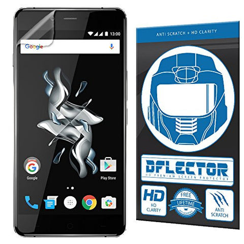 DFlectorshield Screen Protector for the OnePlus X with free lifetime replacement program