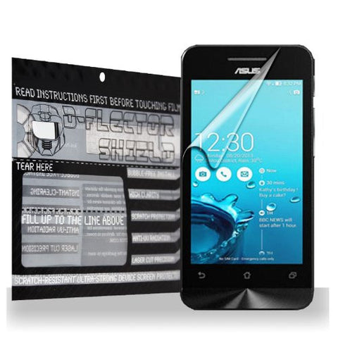 D-Flectorshield Asus ZenFone 4 Scratch Resistant Screen Protector - Free Replacement Program