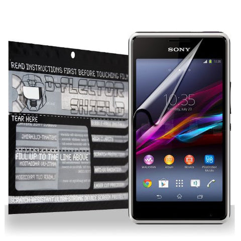 D-Flectorshield Sony Xperia E1 Scratch Resistant Screen Protector - Free Replacement Program
