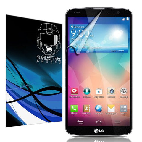 D-Flectorshield LG G-Pro G Pro 2 Scratch Resistant Screen Protector - Free Replacement Program