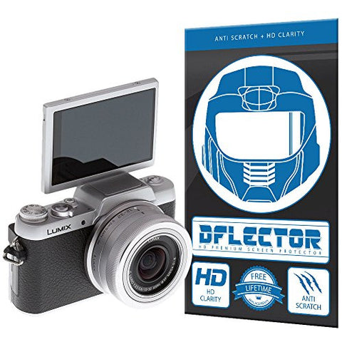 DFlectorshield Screen Protector for the Panasonic Lumix GF7 with free lifetime replacement program