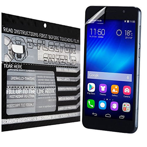 D-Flectorshield Huawei Honor 6 Plus Scratch Resistant Screen Protector - Free Replacement Program