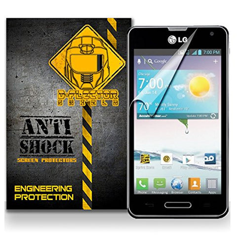 D-Flectorshield LG OPTIMUS F3 Anti-Shock/military grade/ TPU /Premium Screen Protector / self healing / oleophobic material / EZ install / ultra high definition / scratch proof / bubble free install / precise laser cuts