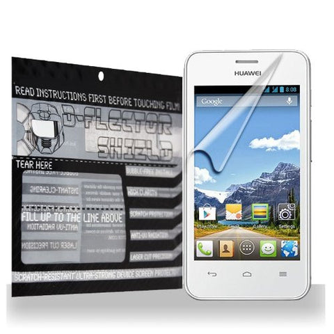 D-Flectorshield Huawei Ascend Y320 Scratch Resistant Screen Protector - Free Replacement Program