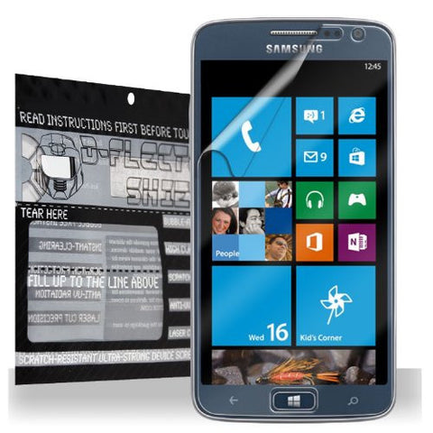 D-Flector Super HD Clear Scratch Resistant SAMSUNG ATIV S NEO Screen Protector - Free Replacement Program