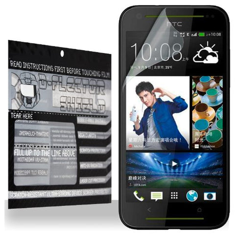 D-Flectorshield HTC Desire 709D Scratch Resistant Screen Protector - Free Replacement Program