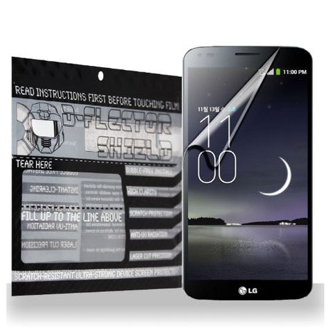 D-Flectorshield LG G Flex Scratch Resistant Screen Protector - Free Replacement Program