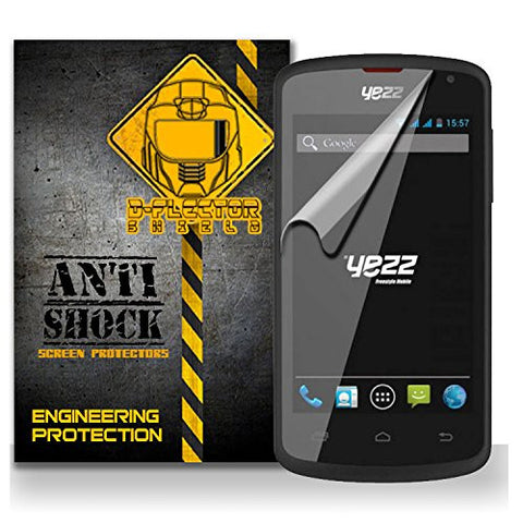 D-Flectorshield Yezz Andy A6m Anti-Shock/military grade/ TPU /Premium Screen Protector / self healing / oleophobic material / EZ install / ultra high definition / scratch proof / bubble free install / precise laser cuts